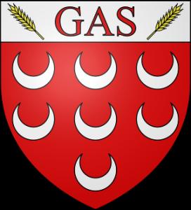 Blason de la commune de GAS